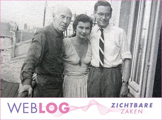 Henk van Gelre en Henry en Eve Miller in Parijs