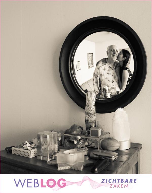 Onvoorwaardelijk in de spiegel kijken